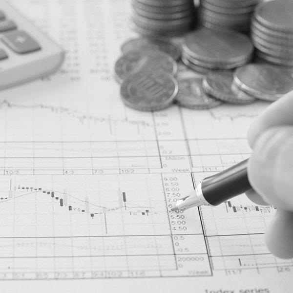 graphiques financiers argent