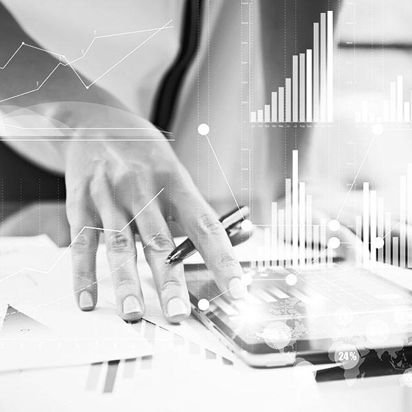 Travail sur graphiques financiers