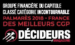 Palmarès Décideurs Magazine 2018